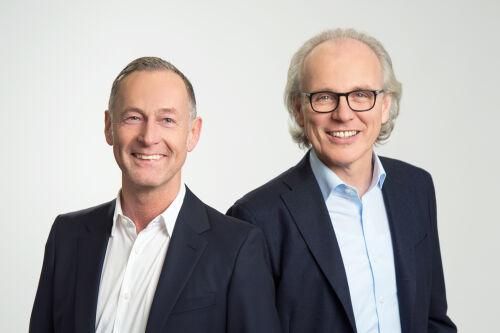 Horst Färber und Felix Schmiud